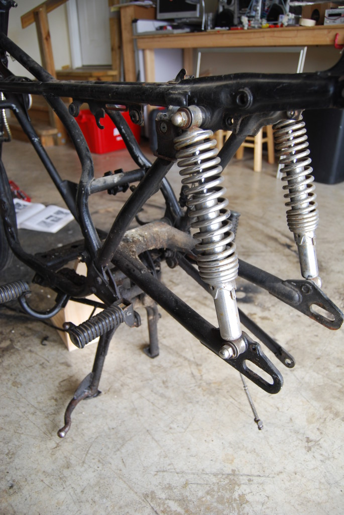 [rd250] rear suspension