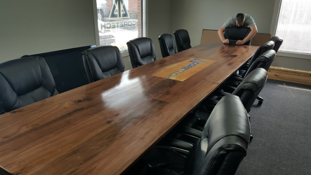 14′ Walnut and Cherry Conference Table Build – CastleSeven